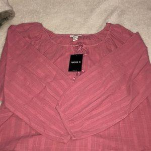 Pink Off The Shoulder